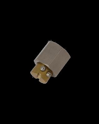Boquilla angular de 90° 2 salidas 15°
